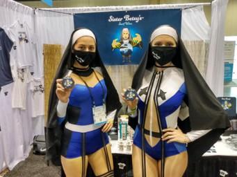 Sister Betsy Surf Wax sets itself apart at debut Surf Expo