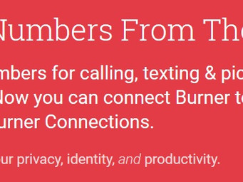'Security Now' with the Burner App