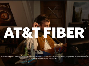 Talking fiber, AT&T releases their Super Bowl ad