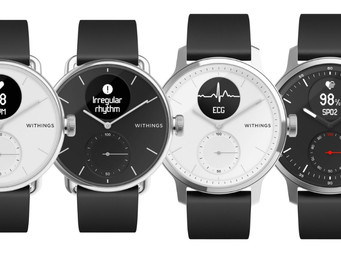 Withings ScanWatch offers medical applications