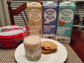 For Santa this Christmas, it's cookies and Better Than Milk