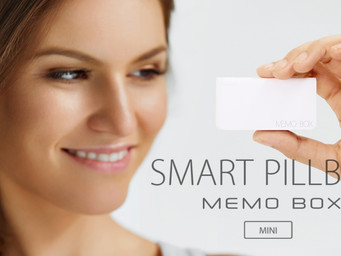Memo Box helps organize your medications, life