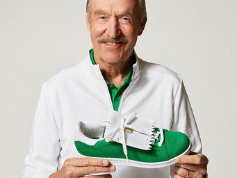 The new Stan Smith golf shoe