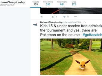 Barbasol Championship harnessing the power of social media and Pokemon