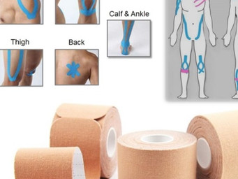 Gsport Kinesiology Tape now available for Amazon, pre-cut