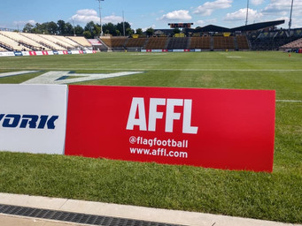The AFFL brings new technology to the football field