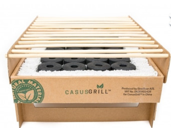 The CasusGrill $15 disposable grill is a must have