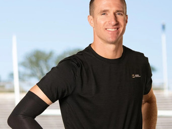Two MVPs: Drew Brees and Copper Compression