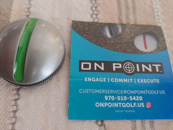 On Point's simple technology to help your putting