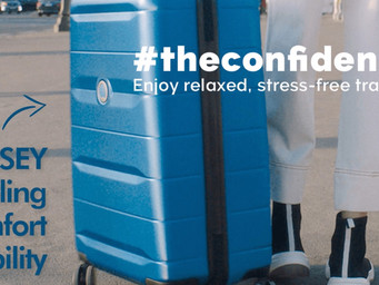 Luggage look: Delsey Comete 2.0 collection