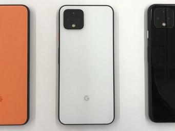 A quick look at Google's new Pixel 4
