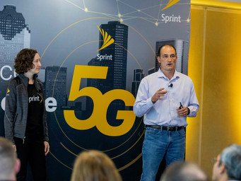Sprint with a 5G event in Atlanta today
