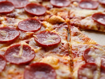 It's pepperoni that 'makes' the pizza for the Big Football Game