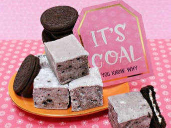It pays to be on the 'naughty list' with XO Santa's Cookie Coal