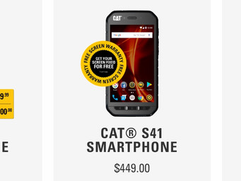 Cat Smartphones ready for the holidays