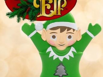 Evergreen Elf is a fun Christmas tree water monitor