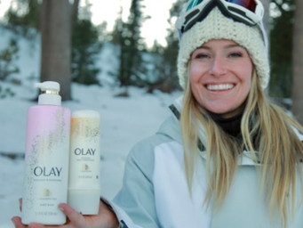 Wireless Wednesday Exclusive: Olympian Jamie Anderson for Olay Body