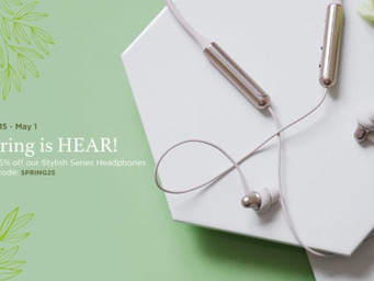 1More headphones on sale through May 1
