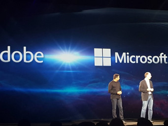 Adobe and Microsoft 'Lovefest' at Adobe Summit