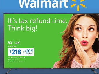 Deal Alert: Walmart with a 50 inch 4K for $218