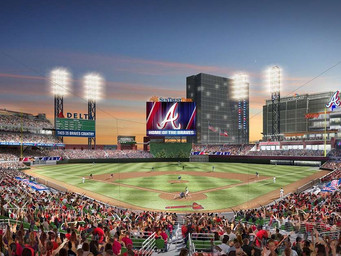 """""""Ballpark of the Future/100-gig stadium"""" announcement with Braves and Comcast"""