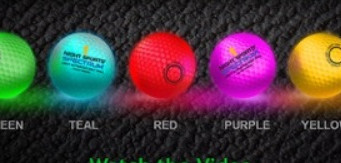 Night Sports USA Spectrum Ball changes to seven different colors