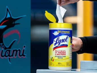 Marlins to use Lysol to keep Marlins Park clean