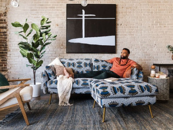 Former NFL linebacker debuts African-inspired furniture line