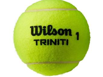 New Triniti tennis ball coming from Wilson
