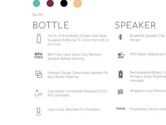 Aquio: Hydrate with your favorite music