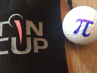 Tin Cup makes identifying your golf ball as easy as 'Pi'