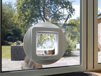 Open your home with the Microchip Pet Door Connect