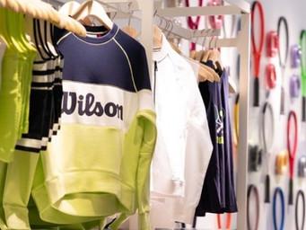 Wilson Tennis pop up shop has opened for US Open in New York