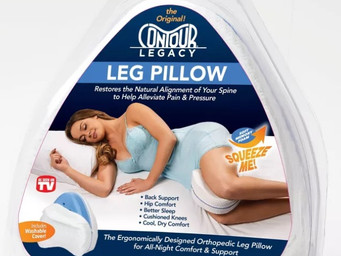 Get a leg up on sleep with the Contour Legacy Leg Pillow