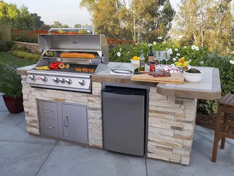 Prepping your grilling area for the season