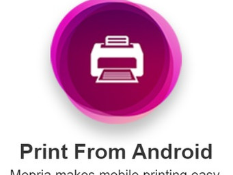 Mopria makes printing off an Android device easier