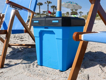 U-Stand gives you a shady private oasis