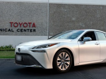 Toyota Mirai sets record with 845 mile zero emission journey