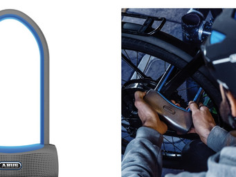 Sucure your bike with the ABUS 770A SmartX Lock