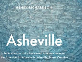 Asheville Art Museum: Rick talks with artist, Henry Richardson