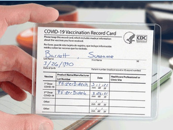 Protect your vaccination card
