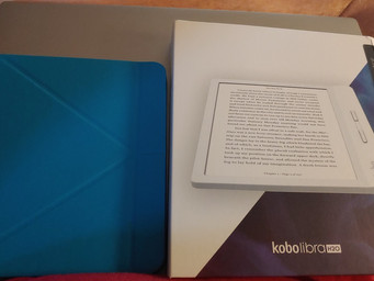 Kobo Libra H20 is a 'feature rich' easy to use eReader