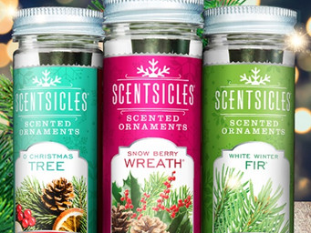 Discreet holiday scents in your home with ScentSicles