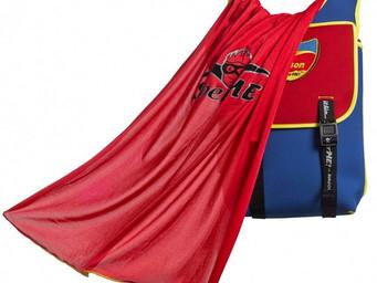 Kids become a 'Superhero' with the SuperMe Classic Cape Kids Backpack