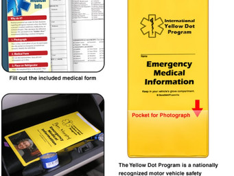 How a 'Yellow Dot' can save your life