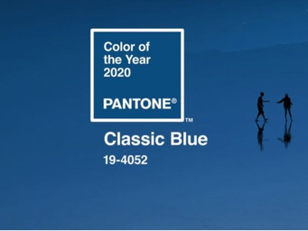 Pantone names Classic Blue as its color of the year for 2020