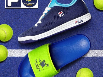 Special FILA footwear available at the 2019 BNP Paribas Open
