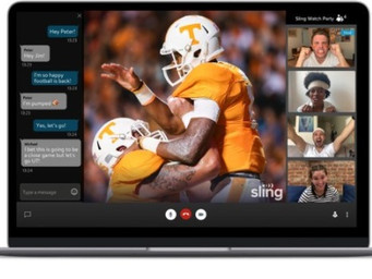 Sling debuts innovative 'Watch Party'