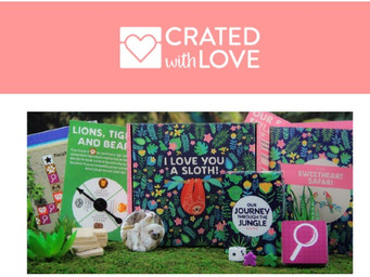 Crated with Love: Just in time for Valentine's Day