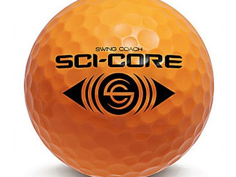 Practice makes perfect with SCI-CORE practice golf balls